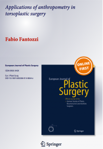 European Journal of Plastic Surgery (2013)