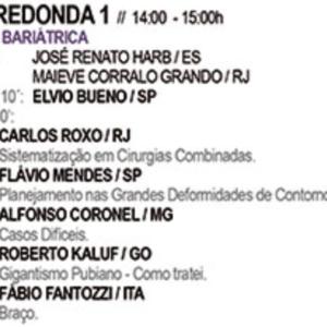 36° Jornada Carioca de Cirurgia Plastica – August 2017